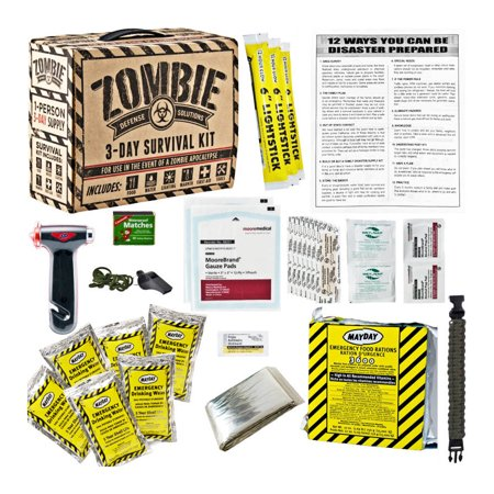 Every Day Carry Zombie 3 Day Survival / Disaster Preparedness Kit 5 Year