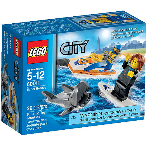 LEGO City Coast Guard Surfer Rescue Play Set