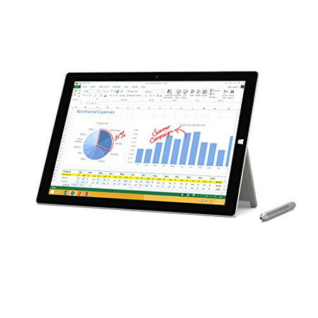 Microsoft Surface Pro 3 Tablet (12-Inch, 128 GB, Intel Core i5, Windows 10)