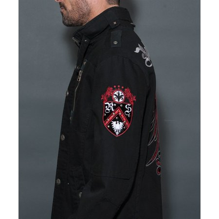 3fb96e8756 Rebel Spirit Men's Zip Hoodie Jacket