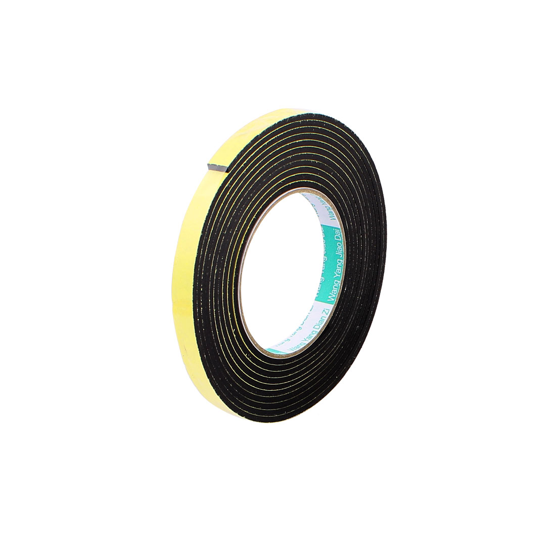 4M Length 1CM Width 3MM Thick Single-Sided Sealing Shockproof Sponge Tape