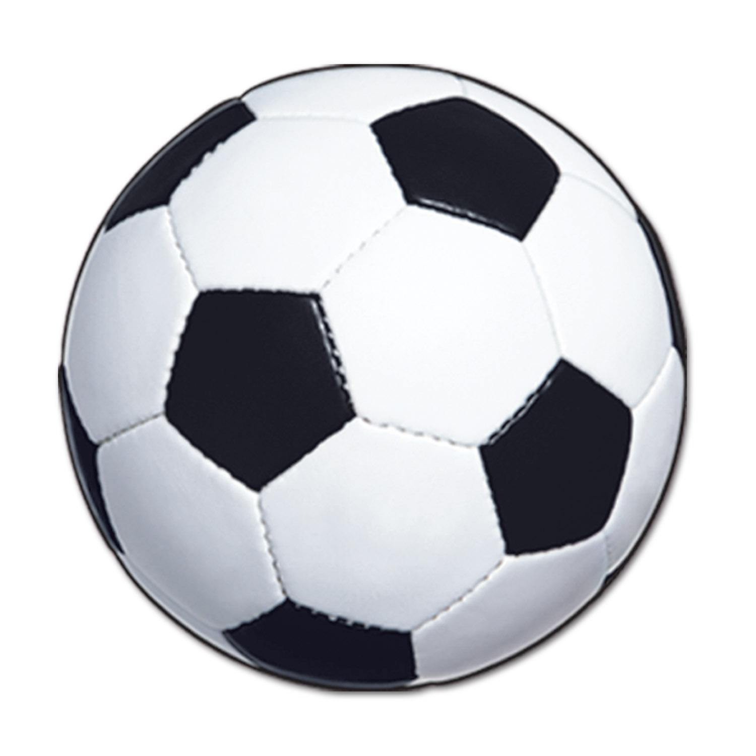 (Pack of 24) Sports Party Soccer Ball Cutout