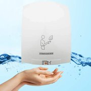 Winado 1800w Electric Hand Dryer, Commercial Hand Dryer Device Infared Sensor, for Home or Commercial Bathroom