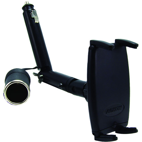 Arkon iPhone 4 Cigarette Lighter Mount with Power Dongle and Slim-Grip Cell Phone Holder