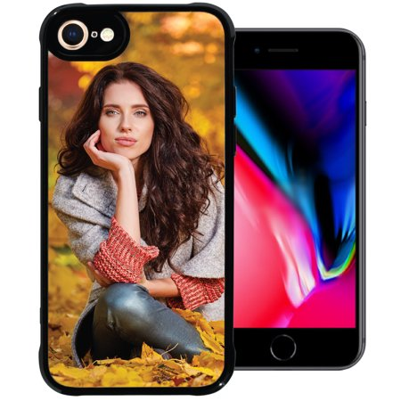 PixCase i8 / i7 (4.7 inch) – Picture Frame Case – Compatible with Apple iPhone 8 and 7 – DIY – Insert Your Own Photos or Create Custom Designs Online – Change Anytime – Shock Absorbing (Create Your Own Phone Case Iphone 5)