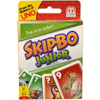 Skip-Bo Junior, Easy-to-Learn Kids Card Game for 5 Year-Olds and Up