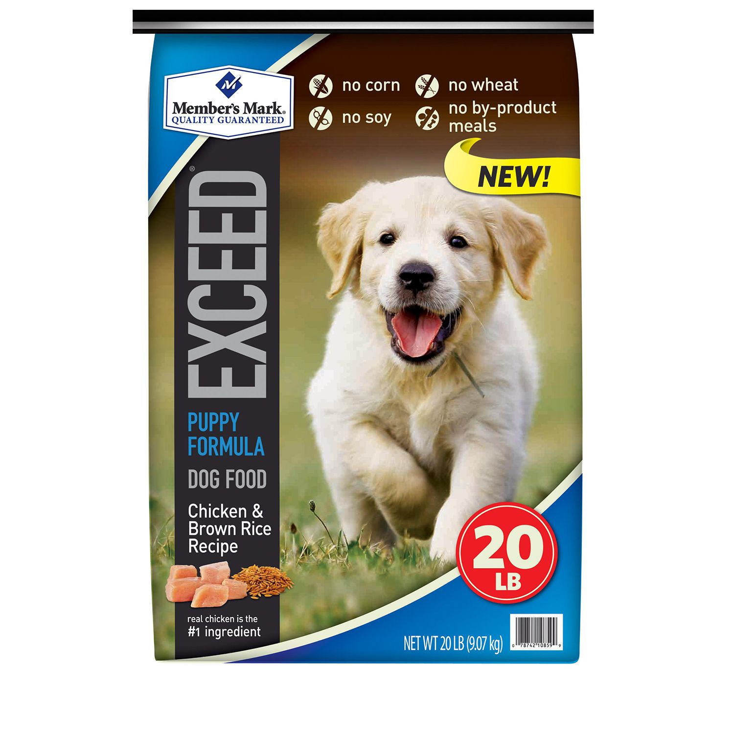 Member's Mark Exceed Puppy Food, Chicken & Rice (20 lbs.) by SAM'S WHOLESALE CLUB