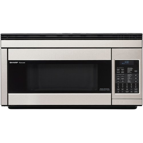 Sharp R1871 Carousel Over-the-Range Microwave Oven 1.1 cu. ft. 850W White