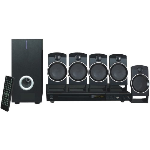 Naxa Nd-859 5.1 Home Theater System - Dvd Player - Black - Dvd+rw, Dvd-rw, Cd-rw - Dvd Video, Svcd - Usb (nd-859)