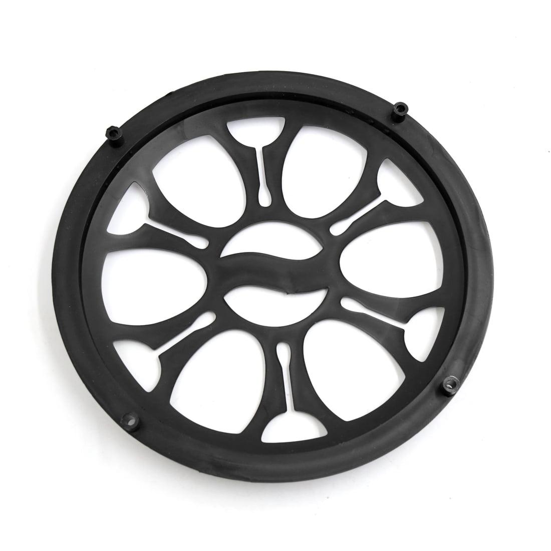 "4pcs 8"" Black Plastic Car Audio Woofer Subwoofer Mesh"