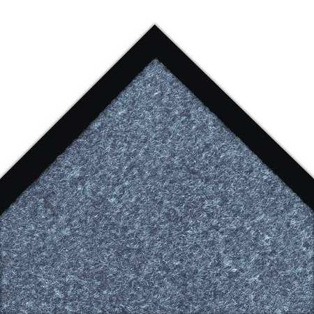 NOTRAX 130S0046BU Carpeted Entrance Mat, Blue, 4 x 6 ft.