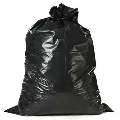 ToughBag Trash Bags, 65 Gallon, 50 Bags, Black