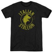 Rocky Sports Boxing Action Movie Italian Stallion Adult Ringer T-Shirt Tee