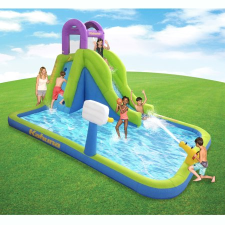 Kahuna Tornado Tower Inflatable Outdoor Backyard Kiddie Pool Slide & Water Park
