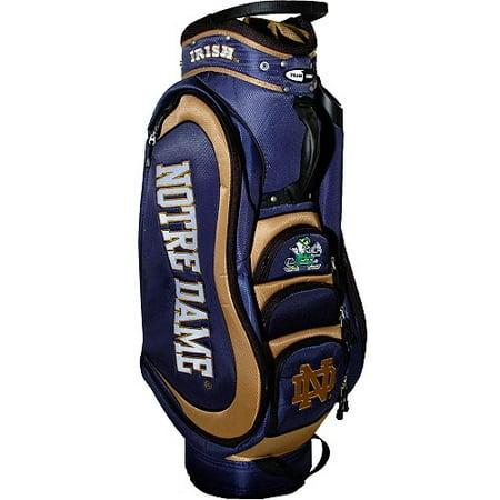 Team Golf NCAA Notre Dame Medalist Golf Cart Bag