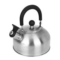 Mainstays 1.8-Liter Whistle Tea Kettle, Multiple Colors