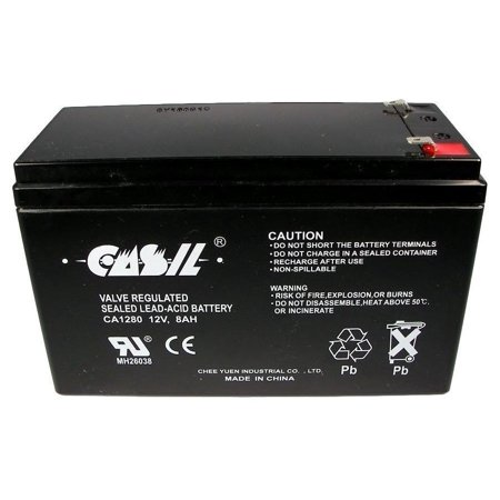Casil 12V 8Ah For Scooter Battery Replaces Energy Power Ep Sla12 8