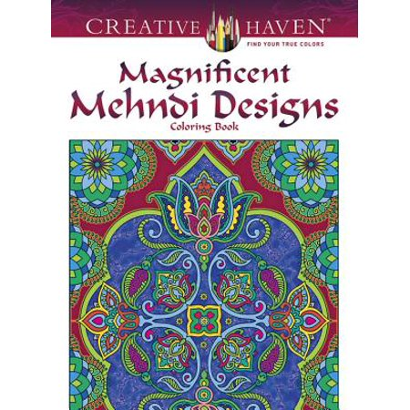 Creative Haven Magnificent Mehndi Designs Coloring