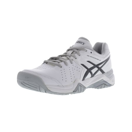 Asics Women's Gel-Encourage Le White / Silver Ankle-High Running Shoe -