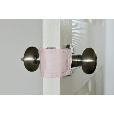 Baby Pink | Door Latch Cover | Door Silencer Ives Door Silencers