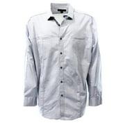 INC NEW Blue Mens Size 2XL Double Pocket Button-Front Woven Shirt