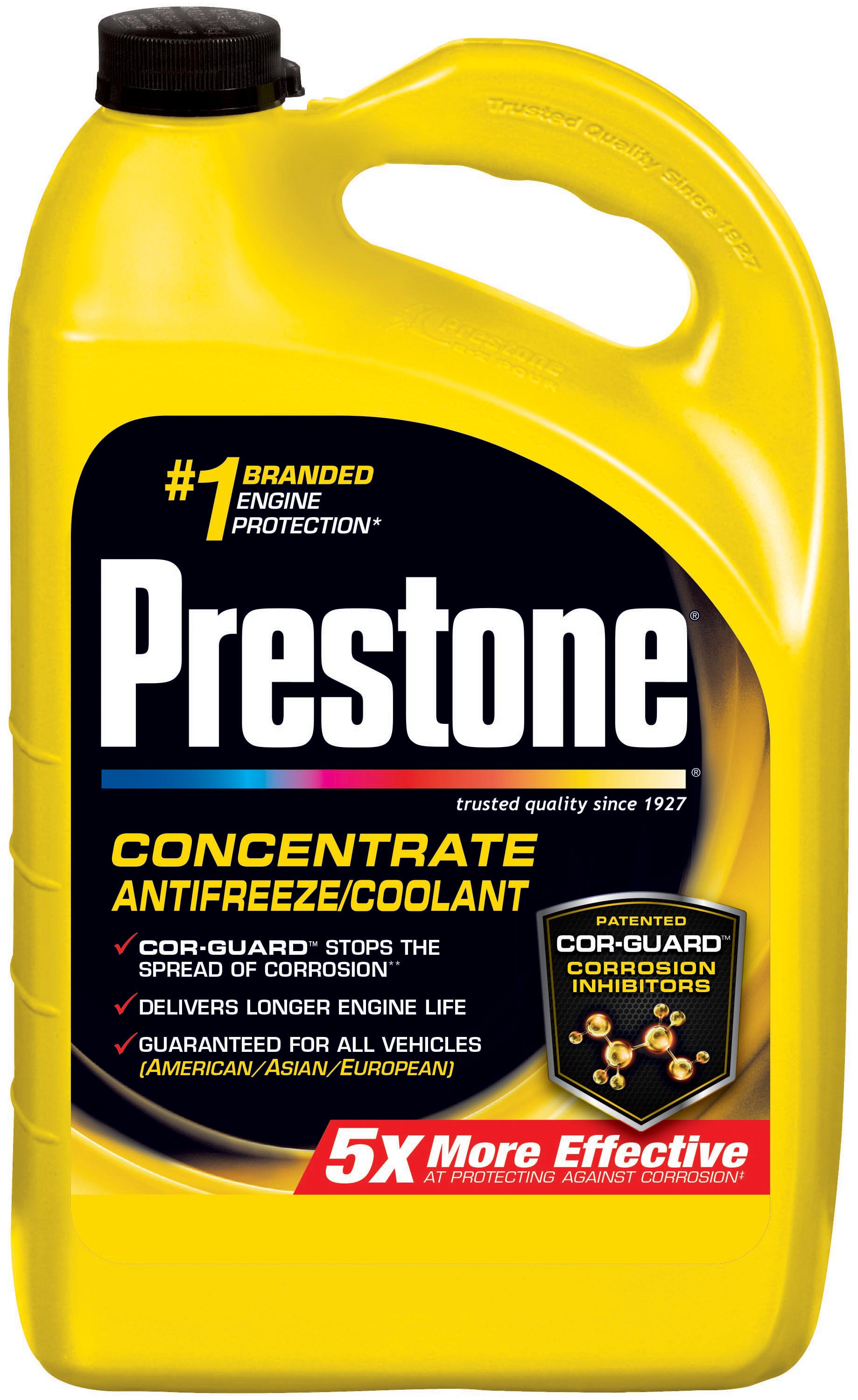 What is the difference between antifreeze The store has a red, yellow and green antifreeze, whats the difference between them