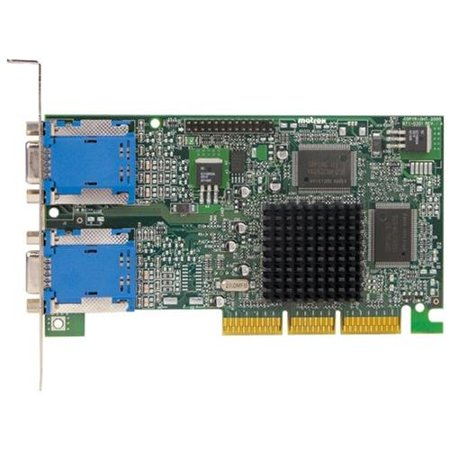 Matrox Graphics G45x4quad-bf Monitor Series G450 X4 - Graphics Card - Mga G450 - Pci - 128 Mb Ddr Sdram. Rohs (g45x4quadbf)