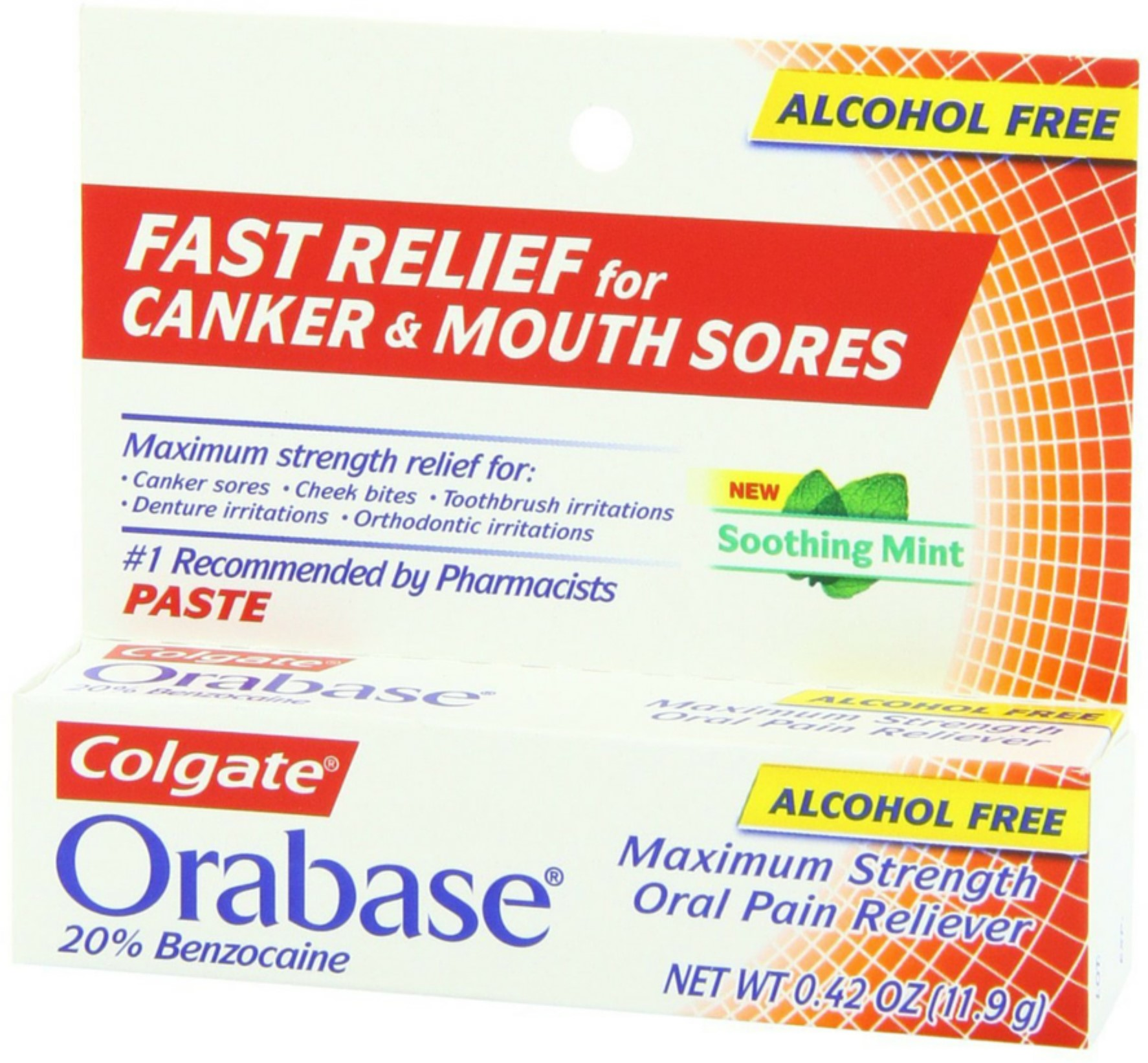 Colgate Orabase Paste 12 g (Pack of 2)