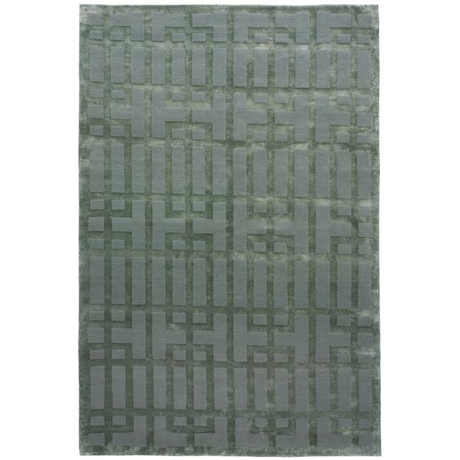 Due Process Stable Trading Adaptations Gated Lattice Seafoam Area Rug, 9 x 12 ft.