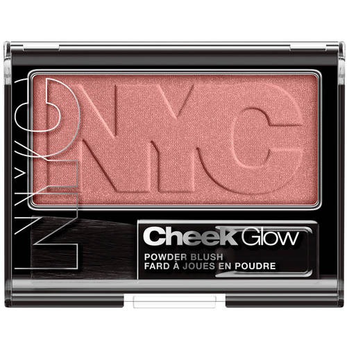 NYC New York Color Cheek Glow Powder Blush, 0.28 oz