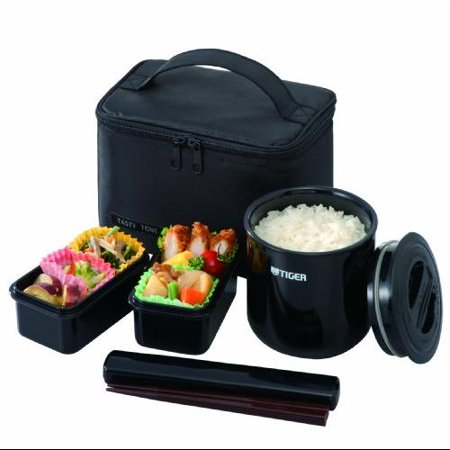 tiger america lwye046k4 tiger lwye046k4 lunch box bento set incl thermal ricejar. Black Bedroom Furniture Sets. Home Design Ideas