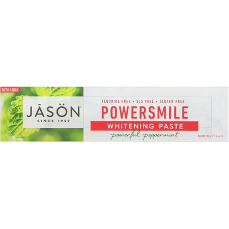 Jason Power Smile Whitening Toothpaste, Powerful Peppermint 6