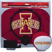 Iowa State Cyclones Rawlings Softee Hoop & Ball Set - Crimson - No Size