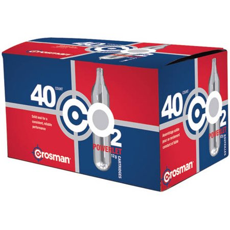 Crosman 12-Gram CO2 Powerlets, 40ct