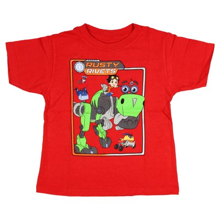 Rusty Rivets Little Boys' Retro Frame Graphic T-shirt ()