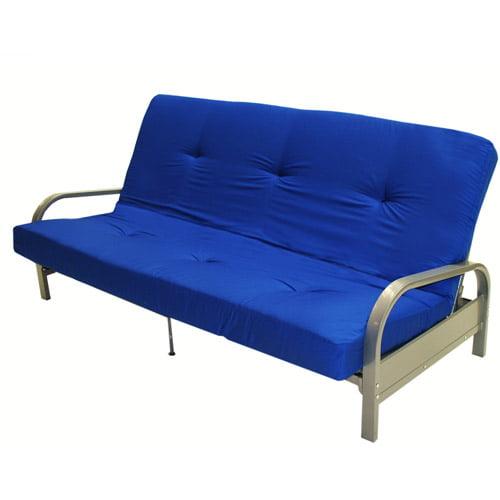 6 Full Size Futon Mattress Blue Morpho Walmart