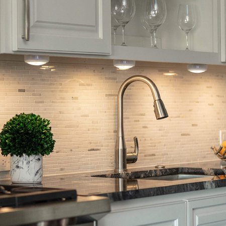 Wireless Led Under Cabinet Lighting, Battery Powered Kitchen Cupboard Lights