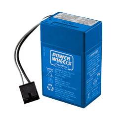 Fisher-Price Power Wheels 6 Volt Blue Battery