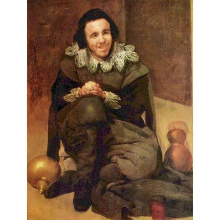 Framed Art for Your Wall Velázquez, Diego - Portrait of the court jester Juan de Calabazas 10 x 13 - Decoracion De Halloween Calabazas