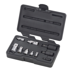 10 Pc. Universal and Adapter Socket Set
