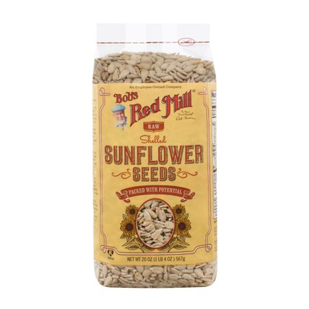 Bob's Red Mill Natural Raw Sunflower Seeds, 20 Oz