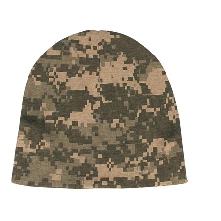 New, Cute Camo Baby Cotton Infant Crib Cap
