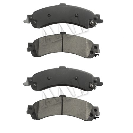 AAL Premium Ceramic Rear BRAKE PADS For 1993 1994 1995 1996 1997 1998 CHEVROLET SUBURBAN 1500 (Complete set 4 pieces) 1998 Chevrolet Astro Brake