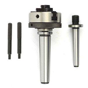 - Superior Electric ALC5491 Mini lathe Chuck 2 Inch Diameter with MT-1 and MT-2 Shank - ALC5491
