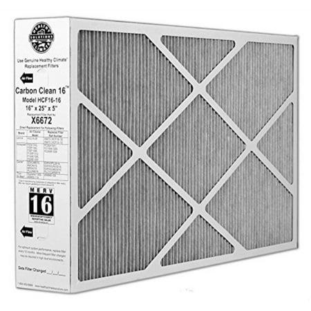 Lennox Doors (x6672 lennox healthy climate 16x25x5 merv 16 filter)