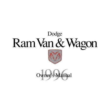 Bishko OEM Maintenance Owner's Manual Bound for Dodge Truck Ram Van & Wagon 1996 ()