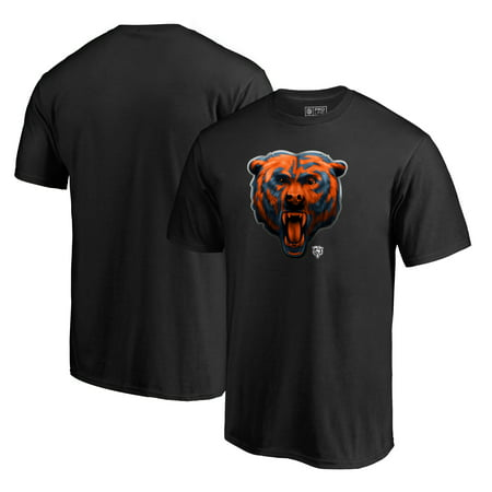 Chicago Bears NFL Pro Line by Fanatics Branded Midnight Mascot T-Shirt - Black