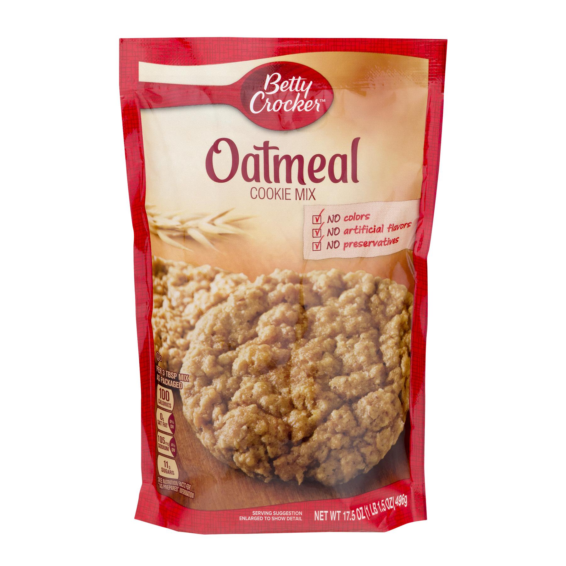 Betty Crocker® Cookie Mix Oatmeal 17.5 oz Pouch