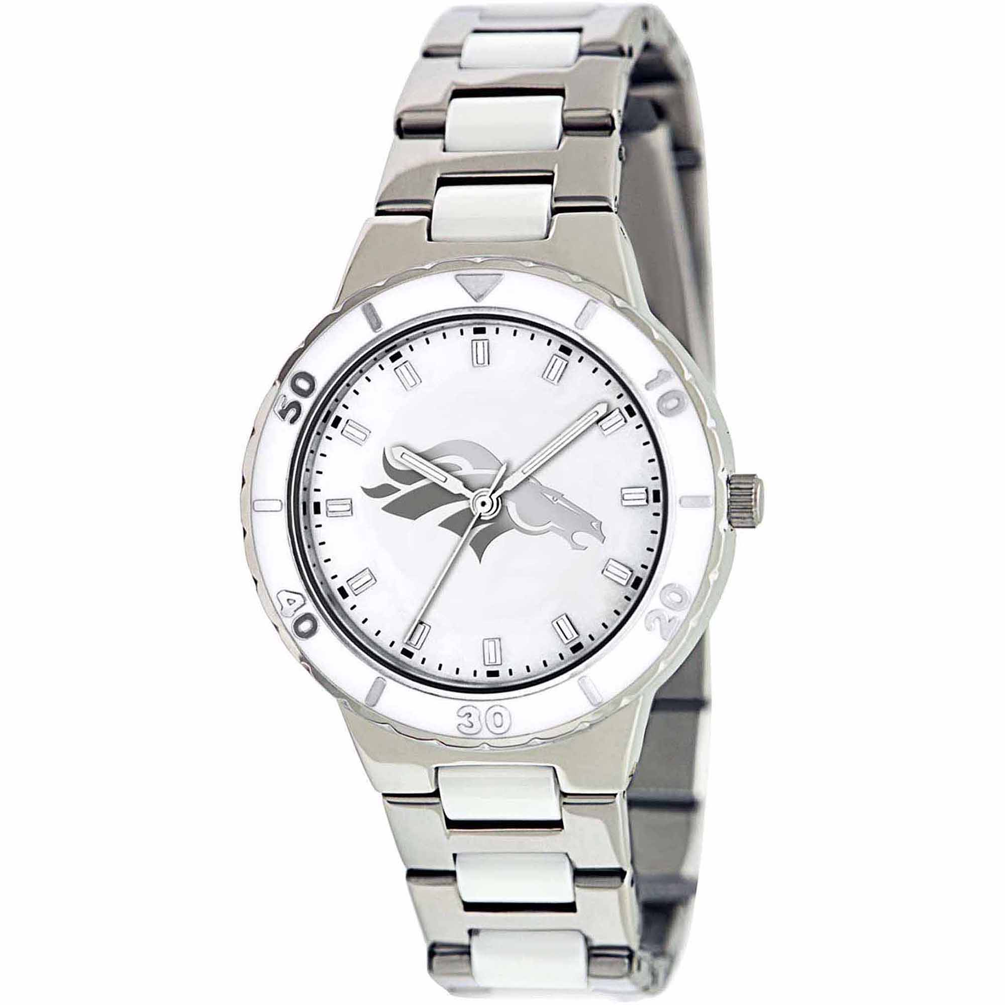 Game Time NFL Women's Denver Broncos Pearl Series Watch