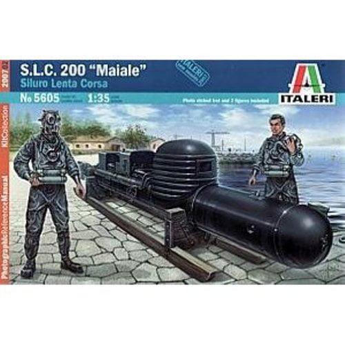 S.L.C. 200 Maiale Italian Attack 1-35 Italeri Multi-Colored